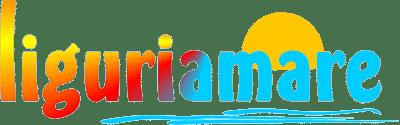Logo Liguriamare. Ferienhaus in Ligurien mit Blick auf das Meer. Auf dem Colle Lupi bei Dolcedo.