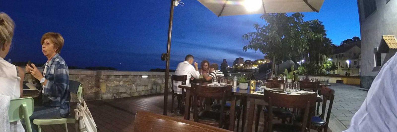 Restaurant Nero di Sepia am Borgo Prino.