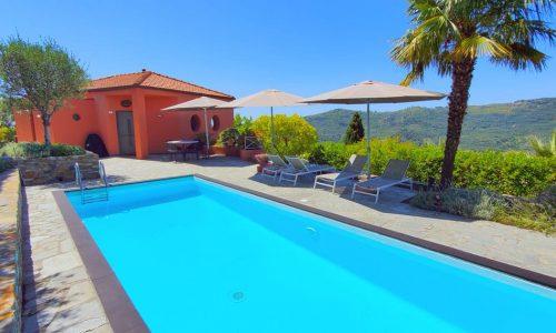 CL16 Gesamtansicht Haus mit Pool